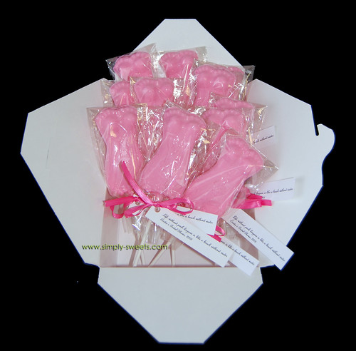 pink lingerie bridal shower favors