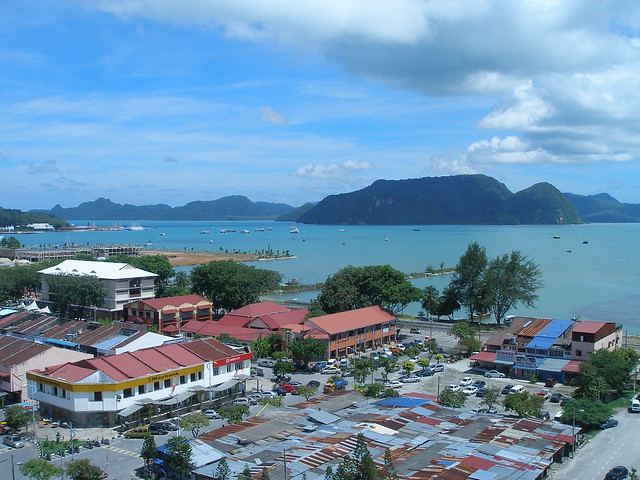 Bayview Hotel Langkawi looking across the coastline