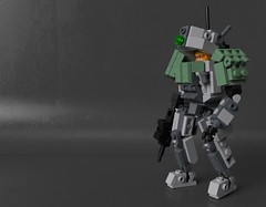 "PzInf - III ""Flamberg"" (Sunder_59) Tags: lego moc render blender3d mecabricks mech mecha military scifi vehicle hardsuit"