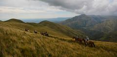 CABALGATA POR LA MONTAÑA (Marina Balasini & Juan Montiel) Tags: horse caballo turismo argentina travel green naturaleza nature explore verde sky cielo