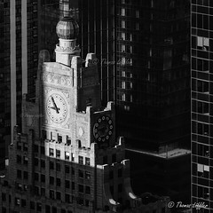 Paramount Building (funtor) Tags: bw city mono building nyc usa skyscraper architecture manhattan