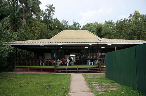 Canteen at Bako