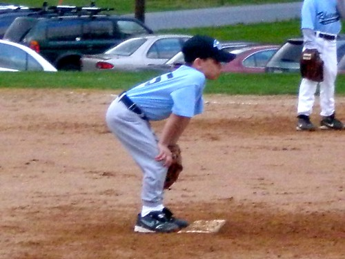 Tyler at the Mound