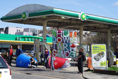 BP Tar Sands Action: Brighton