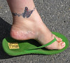 Butterfly toes