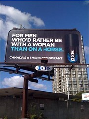 Axe Takes A Dig At Old Spice (Rachel Hutton) Tags: canada funny ad billboard axe oldspice deodorant