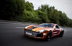 Aston Martin ONE-77 - GUMBALL 3000 (Murphy Photography) Tags: uk car photography shot rally plate rare tracking murphy gumball calais astonmartin rar 2011 one77 calaistoparis exoticcarrare highwayinfrance