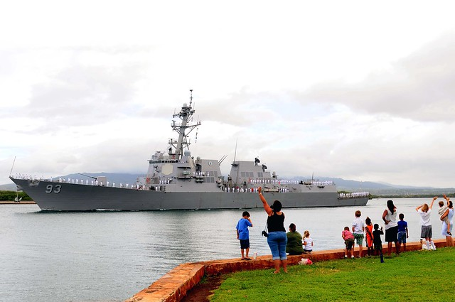 USS Chung-Hoon DDG 93  Deploys