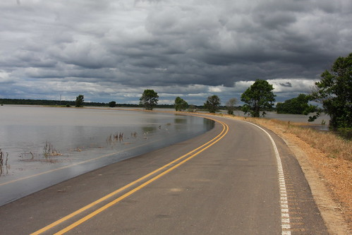 High waters have covered roads, farms and homes in Yazoo County.