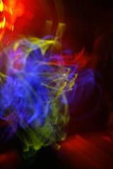 Glo-Stick Trails #1 (Carbon Images) Tags: light music exposure dj path wave australia dancer brisbane nightclub trail queensland themet glosticks bodyrox
