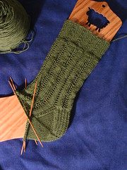 roza sock #1 progress