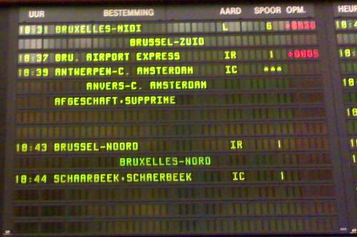 Brussel Centraal sukkelt