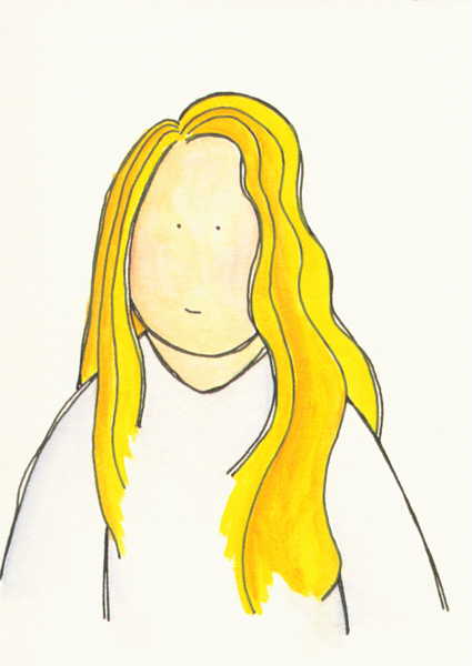 Long Hair So Long (Drawing). Posted by rachelcreative on October 19, 2007