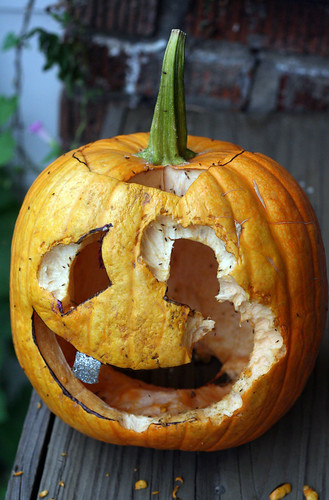 injured pumpkin