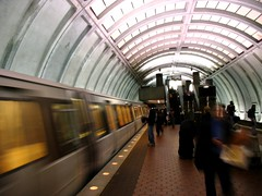 Van Ness station, DC Metro (photo by me)