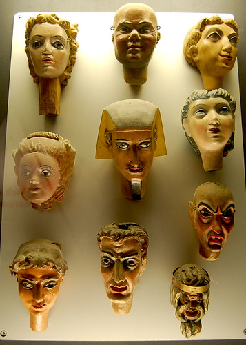 Disembodied Marionette Heads by Curious Expeditions