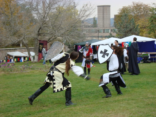 Medieval like fights, Hunedoara