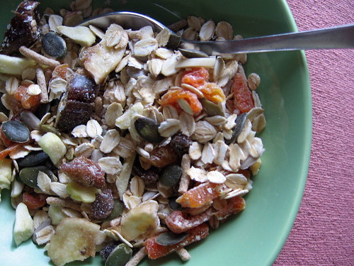 muesli (homemade)