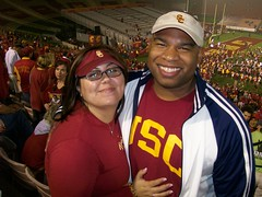 jesse and me at the game