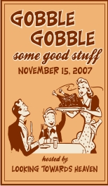 Gobble Gobble some good stuff