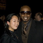 Celia Chen with MC Hammer
