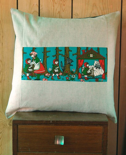 fairytale cushion cover