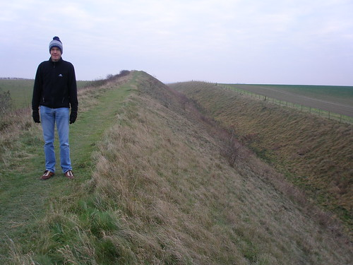 Michael on the Devil's Dyke