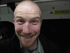 That's one of mine! (Clive Andrews) Tags: smile andrews stu tube stuart advert clive neilson img9299jpg cliveandrews