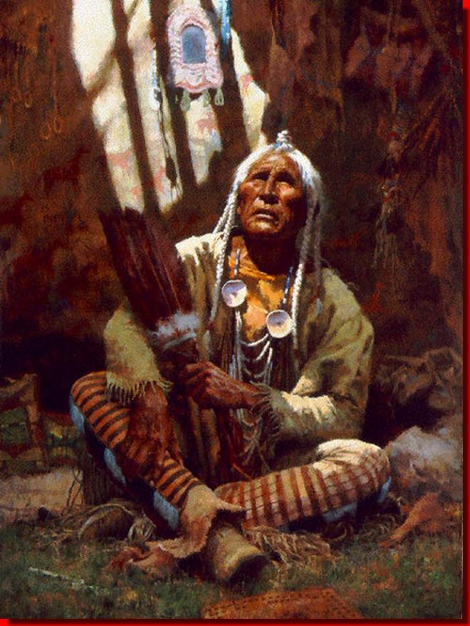 Prière cherokee