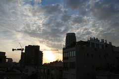 Saturday on the roof of Shalom Halehem (mayagi) Tags: roof sky tel aviv