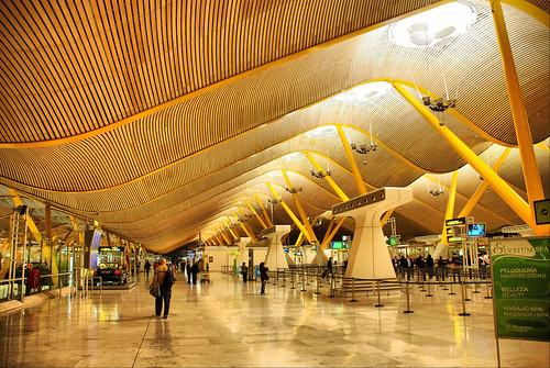 Aeropuerto de Barajas. Terminal T4