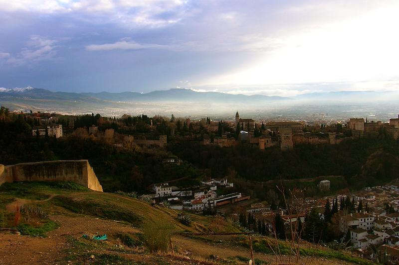 Granada, sacromonte vista
