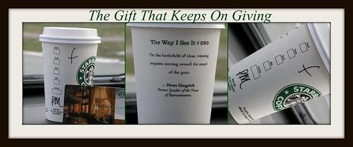 Best Christmas Gift EVER! Vive Lé Starbucks be abi