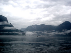 A boat in the fjord (little_frank) Tags: ocean cruise sea wild sky panorama cliff white mountains nature water beautiful norway fog clouds wonderful wonder boat norge amazing fantastic scenery europe silent view place natural cloudy north dream dramatic norwegen surreal peaceful cliffs atlantic hills special fantasy stunning mysterious noruega fjord nordic wilderness fabulous northern scape pure breathtaking impressive norvegia norvege fiordo waterscape breathless unspoiled mounts irreal norvge sognefjord primordial immensity sognefjorden mywinners platinumphoto impressedbeauty superbmasterpiece diamondclassphotographer flickrdiamond amazingamateur theunforgettablepictures betterthangood theperfectphotographer natureselegantshots