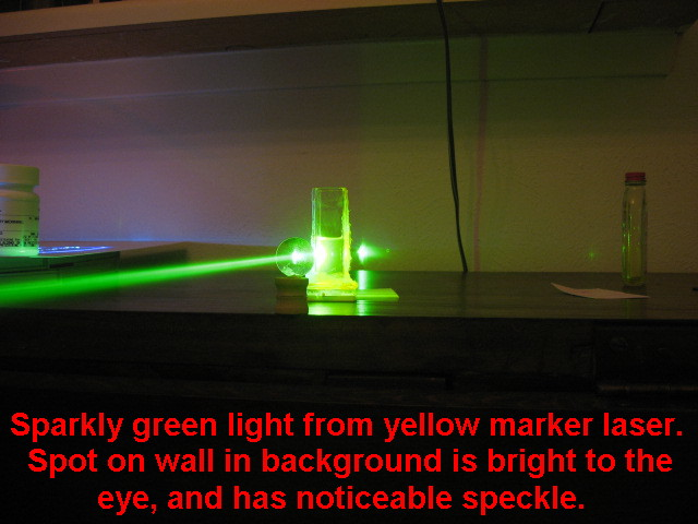 yellow marker lasing 1 - Laser Colorant Puls