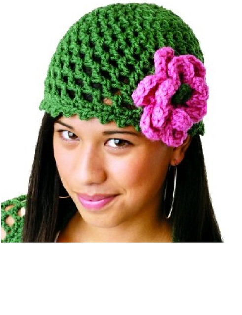 Ravelry: Peek a Boo Flower Hat pattern by Mary Jane Hall