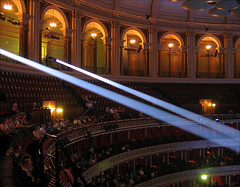 Royal Albert Hall, London (2) (david.bank (www.david-bank.com)) Tags: uk england music london lights concert royalalberthall interior spot auditorium concerthall