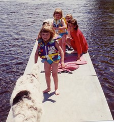 1993 at ludington camp grand falls maine (lud1957) Tags: elise martha april juliereynolds sarahinbackground