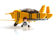 Voltage Maximum (gIadius) Tags: original yellow race lego space minifig atmospheric racer voltage maximum foitsop