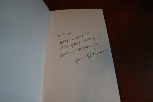 Kaufman Book Signature