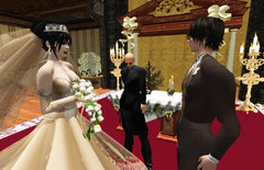Dearly beloved... (Tragix Wilder) Tags: wedding 3d secondlife