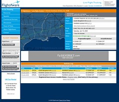 Flightaware Web Based Flight Tracking Service