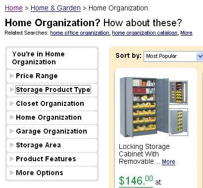 Home organization Shopzilla