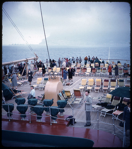 Rock of Gibraltar, April '56, SS Independence