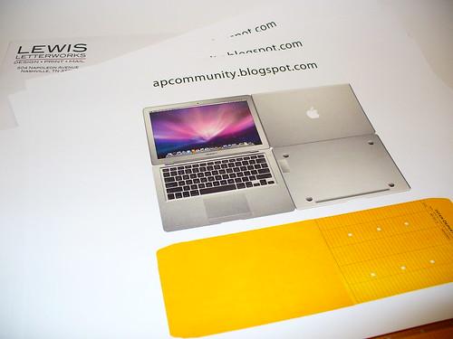 Paper MacBookAir - Feb. 2, 2008