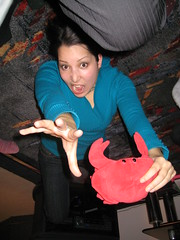 Alvin's Party (20) (chicgeekuk) Tags: red laura animal toy crab plush claw abroad stuffedanimal seafood claude crabs crustacean claws kishimoto travellingtoys travellingtoy laurakishimoto laurakishimotoca claudeabroad