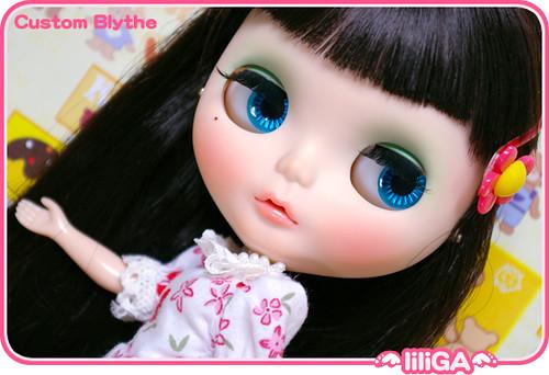 .lili-GA. custom blythe. by ♥.LILI-GA.♥.