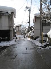 Village - street 02 (drayy) Tags: snow ski japan skiing village onsen hotspring nagano  snowcovered   nozawaonsen