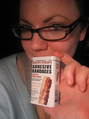 365 Day 29 (Jill Rachel) Tags: bacon creative 365 armani bandages jillrachelphotography