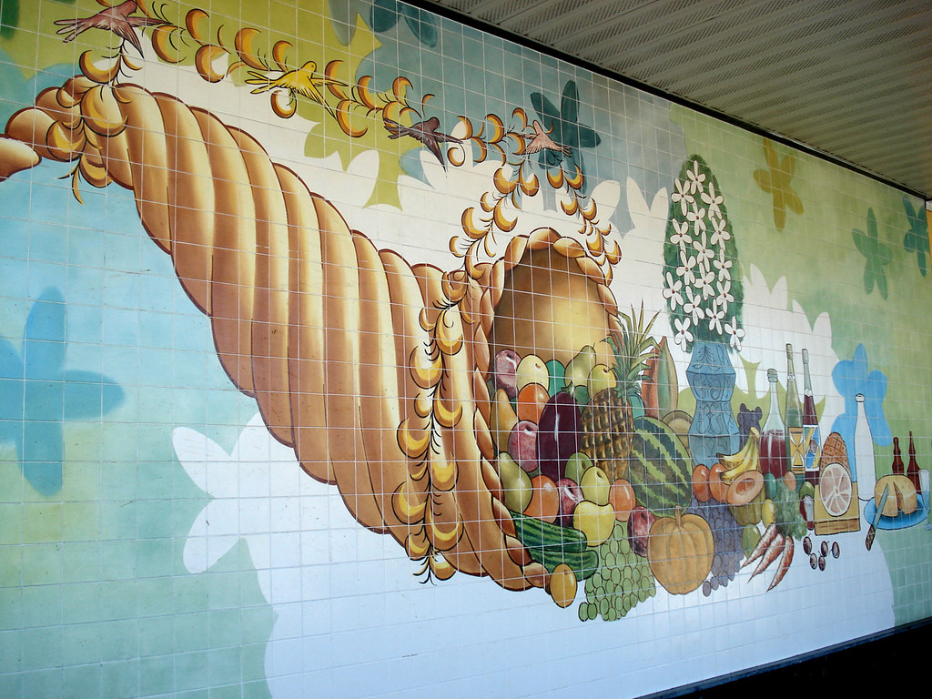 Publix Horn of Plenty Mural - 436 in Orlando